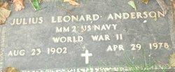 Julius Leonard Anderson