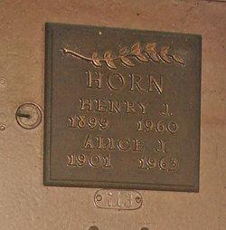 Alice J. Horn