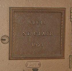 Cecil St. Clair