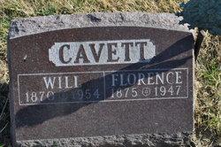 Florence <I>Stevens</I> Cavett