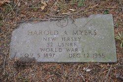 Harold Albert Myers