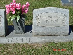 Nellie Mae <I>Cothron</I> Dasher