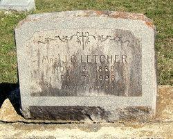 Josephine <I>Burrell</I> Letcher