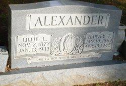 Lillie Loretta <I>Jackson</I> Alexander