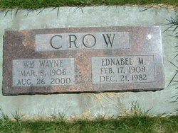 Ednabel <I>Myers</I> Crow