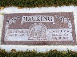 Iris Rae <I>Swain</I> Hacking