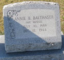 Annie Bertha <I>Mengel</I> Balthaser