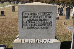 Clarissa Eliza <I>Moore</I> Lindsay