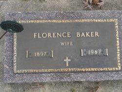 Florence <I>Guard</I> Baker