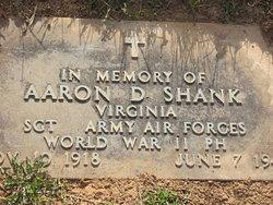 Sgt Aaron David Shank