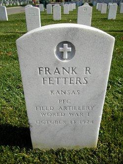 Frank R Fetters