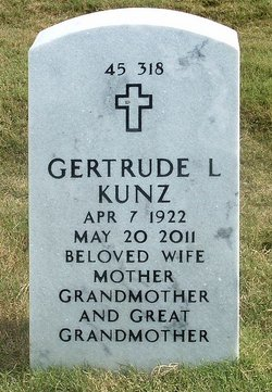 Gertrude Louise <I>Young</I> Kunz