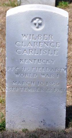 Wilber Clarence Carlisle