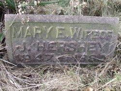 Mary Eliza <I>Ashbaugh</I> Hershey