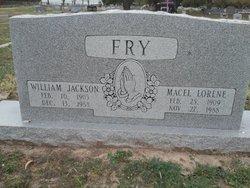 "William Jackson ""Jack"" Fry"