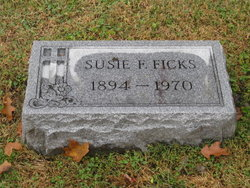 Susie Frances <I>Metts</I> Ficks