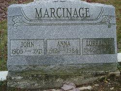 Anna <I>Hranchock</I> Marcinage