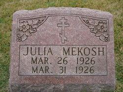 Julia Mekosh