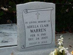 Adella Clair Warren