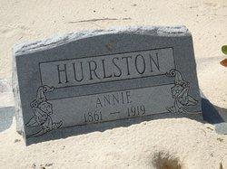 Ann Isabella Hurlston