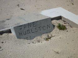 Jane Eleanor <I>Jones</I> Hurlston