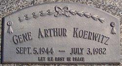 Gene Arthur Koerwitz