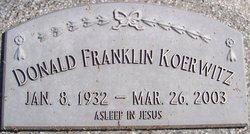 Donald Franklin Koerwitz