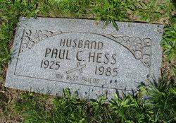 Paul Charles Hess