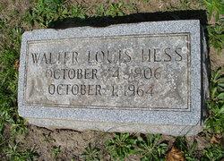 Walter Louis Hess