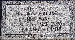 Kathryn T <I>Collman</I> Brettmann