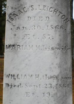 Miriam Mayberry <I>Leighton</I> Leighton