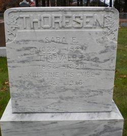 Kristine <I>Petersen</I> Thoresen