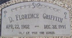 Dora Florence <I>Maple</I> Griffith