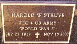 Harold W Struve