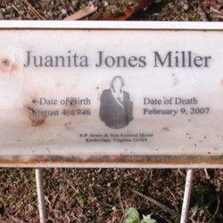 Juanita <I>Jones</I> Miller