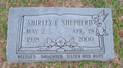 Shirley F Shepherd