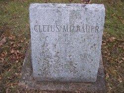 "Cletus ""Buddy"" Milbauer"