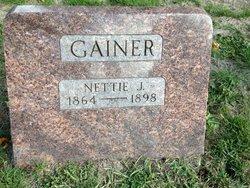 Nettie J Gainer