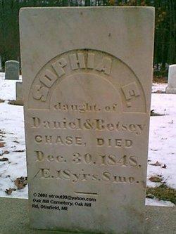 Sophia E Chase