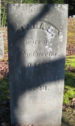 Clara G <I>Thompson</I> Currier