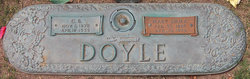 Mary Emma <I>Clark</I> Doyle
