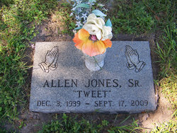 "Allen ""Tweet"" Jones, Sr"