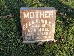 Ella Regenia <I>Wiler</I> Abel