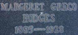 Margaret Patrina <I>Greco</I> Hodges