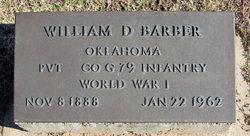 """William Daniel """"Dan"""" Barber"""
