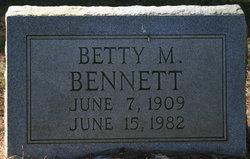 """Luticia M. """"Betty"""" <I>Norman</I> Bennett"""