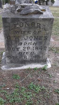 Leonora <I>Terrell</I> Jones