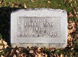 Olive Mae <I>Johnson</I> Holt