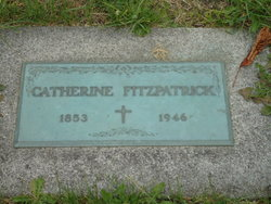 Catherine <I>O'Rourck</I> Fitzpatrick