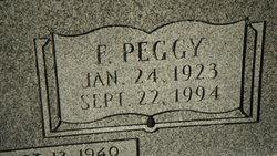 Florence Peggy <I>Clark</I> Cripe